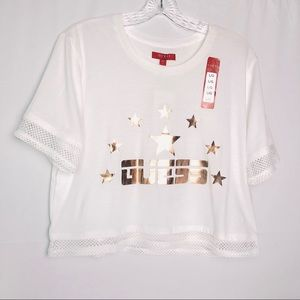 Guess Stars Cropped Top